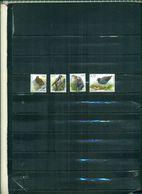 BELGIQUE SERIE COURANTE OISEAUX 2003 4 VAL NEUFS A PARTIR DE 1.75  EUROS - 1985-.. Uccelli (Buzin)