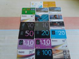 Arab World  - 20 Nice Phonecards - Telefoonkaarten