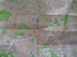 """Mappa """"ROMA ENTE PROVINCIALE PER IL TURISMO"""" Primi Anni '80 - Topographical Maps"""