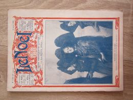 Revue Le Noel 17 Mars 1921 Dimanche En Alsace Folklore Costumes Coutumes Et Diligence  Pierre Ségade Lacaume Castres - 1900 - 1949