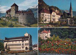 6 AK Liechtenstein * Vaduz, Malbun Und Schloss Werdenberg In Buchs (Schweiz) Schattenburg In Feldkirch (Österreich) * - Liechtenstein