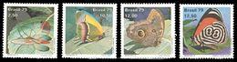 Bresil Brasil 1374/77 Papillons - Farfalle