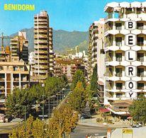 Benidorm - Vue Dans La Ville - Espagne