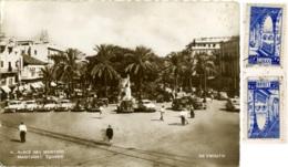 LIBAN  LEBANON Beyrout  Martyres Square Place Des Martires  Old Car  Auto D'epoca - Lebanon