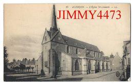 CPA - ALENCON 61 Orne En 1916 - L' Eglise Saint Léonard - N° 15 - L L - Edit. Lévy Fils & Cie Paris - Alencon
