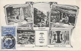 OLD POSTCARD - GRECIA - GREECE - CRETA - LA CRETE ANTIQUE - VIAGGIATA 1917 - T11 - Grecia