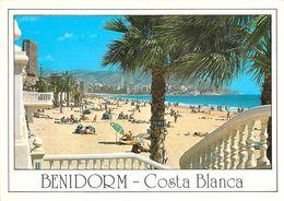 Benidorm - Plage De Poniente - Espagne