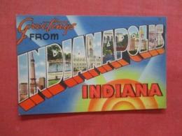 Greetings    Indianapolis   Indiana >  Ref 4213 - Indianapolis