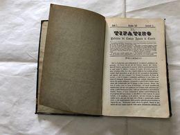 IL TIFATINO BOLLETTINO DEL COMIZIO AGRARIO DI CASERTA MINISTERO AGRICOLTURA 1872 - Oude Boeken