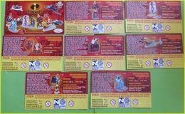 BPZ SERIE KINDER LES INDESTRUCTIBLES BRESIL 2005 - Istruzioni