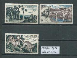 MADAGASKAR MICHEL SATZ 426 - 428 Postfrisch Siehe Scan - Madagaskar (1960-...)