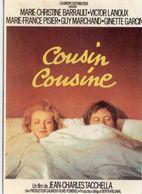 """Cinéma Film Affiche """"Cousin Cousine"""" Marie-France Barrault Victor Lanoux - Affiches Sur Carte"""