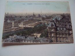 PARIS - Panorama Des 7 Ponts (carte Avec Des Reflets) {paillettes} - France