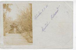 (RECTO / VERSO)  CHALON EN 1902 - VIERGE - CARTE PHOTO FORMAT CPA - Chalon Sur Saone