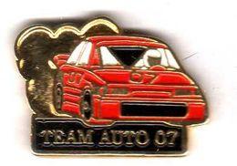 Pin's Automobile Rallyie Team Auto 07 ( 1 ) Voir Description - Renault