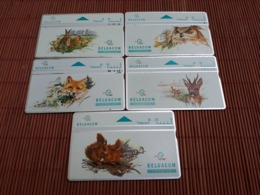 Complete SET 5 Cards Animals Lessive S 81-S 82-S 83-S84-S85 Used Rare - Belgien