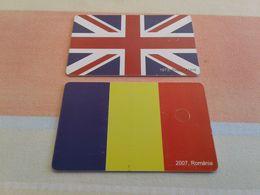 Romania - 2 Nice Phonecard - Rumänien