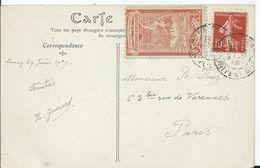 FRANCE - NANCY - Vignette EXPOSITION INTERNATIONALE DE L EST DE LA FRANCE 1909 - Commemorative Labels