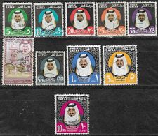 QATAR 1973-4 SG 445/54  Sheikh Complete SET Fine Used STAMPS Scans - Qatar