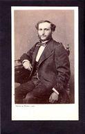 CDV Bayard Et Bertall PARIS   :   Très Beau Portrait ( En Lien Avec Emile Hugo  ) Vintage Albumen 1869 - Ancianas (antes De 1900)