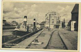 78-928- 14 Lithuania Klaipeda Memel Harbour Port - Lithuania