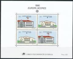 CEPT 1990 Portugal Açores Azoren Yvertn° Bloc 11 *** MNH Cote 24 Euro - Europa-CEPT
