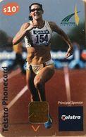 AUSTRALIE  -  Phonecard  -  Telstra  -  Principal Sponsor Of Athletics Australia  -  $ 5 - Australien