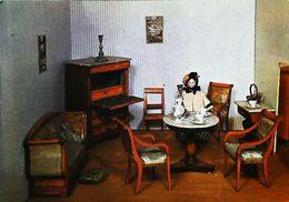 Carte Postale - Poupée   Doll   Mulhouse  Chambre Maison De Poupées Empire - Dolls