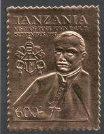 Tanzania, 1990 (c), Pope John Paul II, Johannes Paul II, Giovanni Paolo II, Jean-Paul II, Juan Pablo II, João Paulo II - Popes