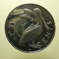 British Virgin Islands 50 Cents 1973 Proof - Islas Vírgenes Británicas