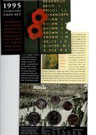 AUSTRALIE 1995 UNCIRCULATED COIN SET 15th ANN END WORLD WAR II - Moneda Decimale (1966-...)