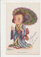 J IBANEZ ILLUSTRATEUR BAILE JAPONES CPA BON ETAT - Autres Illustrateurs