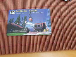 Prepaidcard Jasper Tramway Canada $10 Used 2 Scans Rare - Canada