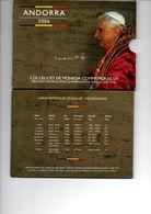 ANDORRA BU SET 2006 1st ANN. ELECTION POPE BENEDICT XVI - Andorre