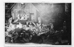 (RECTO / VERSO)  MAYEN EN 1949 - CRECHE DE L' EGLISE DE BELL - CARTE PHOTO FORMAT CPA - Mayen