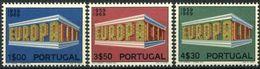 Cept 1969 Portugal Yvertn° 1051-53 *** MNH Cote 22,50 Euro - Europa-CEPT