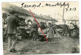 Markt Platz Enfants Ternopil Tarnopol Ukraine Тернополь  (1-3) Juden Judaika  Guerre 14/18-WWI Photo Allemande - 1914-18