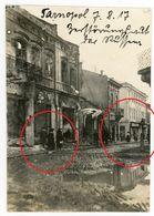 Geschäfte Ternopil Tarnopol Ukraine Тернополь  (3-3) Juden Judaika  Guerre 14/18-WWI Photo Allemande - 1914-18
