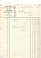 Maroquinerie, J. Saleur, Saint Florent (Cher) 1928 - 1900 – 1949