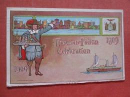 Embossed 1909 Hudson Fulton Celebration     Ref 4214 - Exhibitions