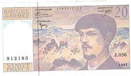 Billet De 20 Francs Debussy  Serie J056 N°912183 Neuf Tbe - 1962-1997 ''Francs''