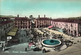 ALBA - PIAZZA SAVONA - CUNEO - VIAGGIATA - Cuneo