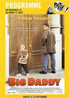 SPECTACLE CINÉMA  PROGRAMME  PATHE LYON  BIG DADDY MIXION - Affiches Sur Carte