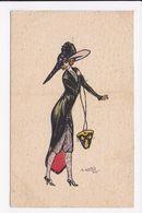 CP ILLUSTRATEUR NAILLOD Femme Mode - Autres Illustrateurs