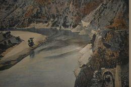 Macédoine. Tunnel De Vodena. Photogravure Fin XIXe. - Prints & Engravings