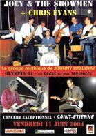SPECTACLE MUSIQUE MUSICIENS  JOEY & THE SHOWMEN + CHRIS EVANS GROUPE MYTHIQUE JOHNNY HALLYDAY - Musique Et Musiciens