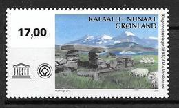 Groënland 2018, N°770 Neuf UNESCO Kujataa - Ungebraucht