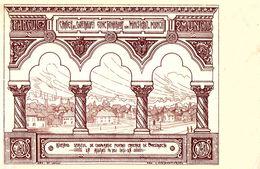 BUCURESTI : 20 LEI - COLECTA DE FONDURI PENTRU CARTIERUL 'PARCUL MUNCII' - FUND RAISING POSTCARD - 1926 - RRR ! (af079) - Roumanie