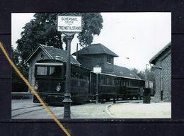 PHOTO SCHEPDAEL DILBEEK  VLAAMSE BRABANT TRAM STATION REPRO - Dilbeek