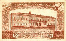 BUCURESTI : 10 LEI - COLECTA DE FONDURI PENTRU SANATORIUL FUNCTIONARILOR P.T.T. - FUND RAISING POSTCARD - 1925 (af080) - Roumanie